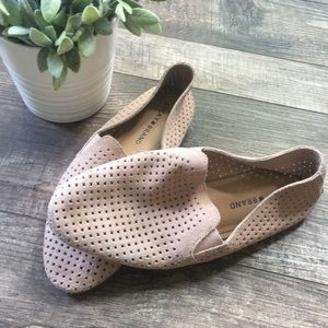 Lucky Brand Carthy Cut Slip On Loafers